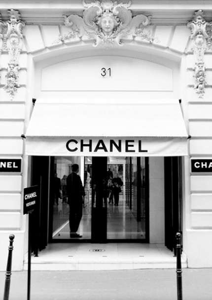 Chanel Store Poster