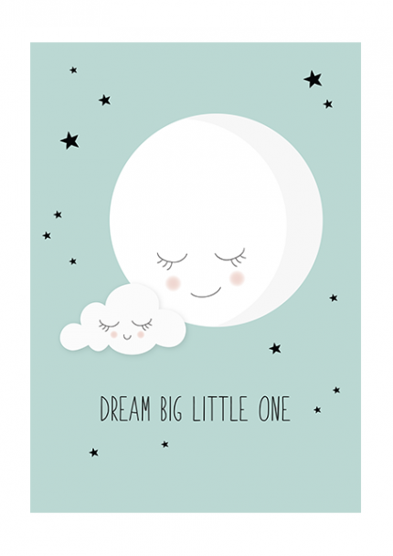 Dream Big Little One Mint